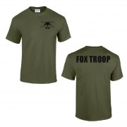 2nd Cavalry Regiment Fox Troop Performance Teeshirt