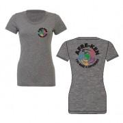 Afre-Ken Ladies Tri Blend Teeshirt