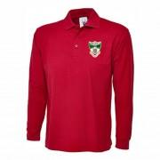 EDCC - EQUINE Unisex Long Sleeve Poloshirt